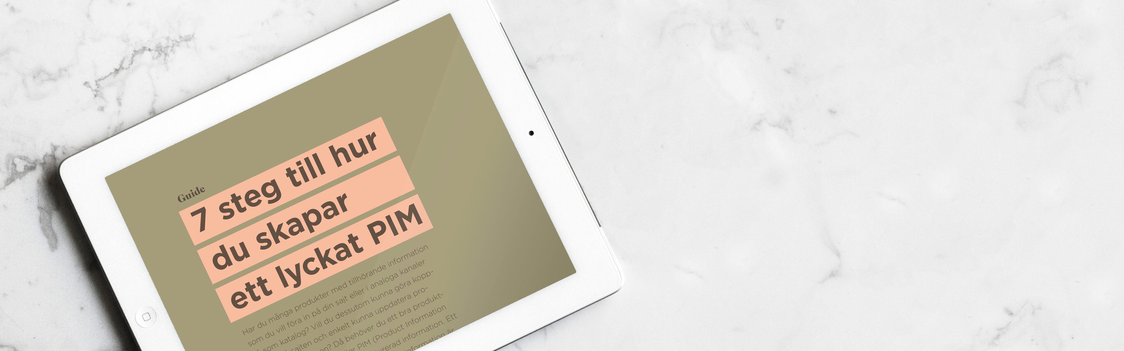 7 steg till hur du skapar ett lyckat PIM